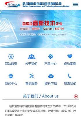 仿哈尔滨帕特尔科技股份有限公司